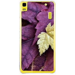 ifasho Fallen Leaf Back Case Cover for LENOVO A7000