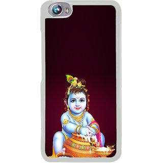ifasho Lord Krishna stealing curd Back Case Cover for Micromax Canvas Fire4 A107
