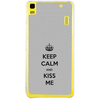 ifasho Nice Quote On Keep Calm Back Case Cover for Lenovo K3 Note