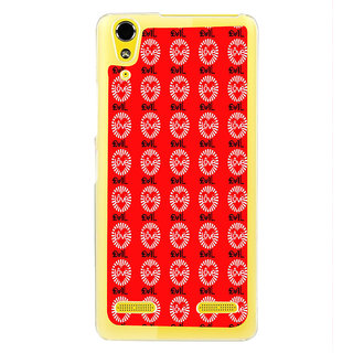 ifasho Animated Pattern With Love and heart Back Case Cover for LENOVO A6000