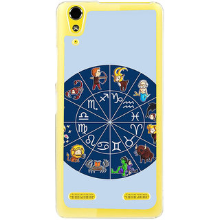 ifasho zodiac sign ALL Back Case Cover for LENOVO A6000