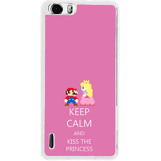 ifasho Nice Quote On Keep Calm Back Case Cover for Huawei Honor 6