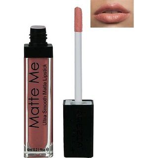 Arezia Matte Me Liquid Lipstick 6ml Light brown (FREE 1LIPLINER )