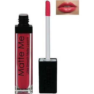 Arezia Matte Me Liquid Lipstick 6ml Vivid Red (FREE 1LIPLINER)