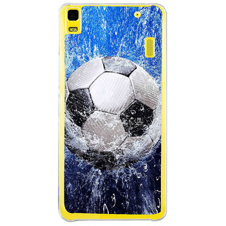 ifasho Foot ball Back Case Cover for Lenovo K3 Note