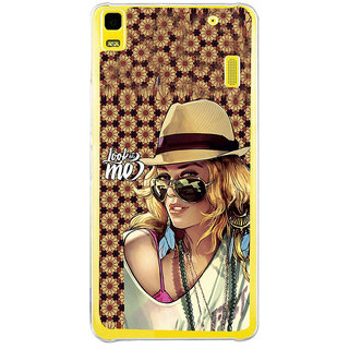 ifasho Look at me Girl Back Case Cover for Lenovo K3 Note