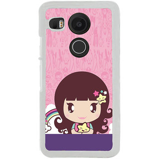 ifasho Cute Baby Back Case Cover for LG Google Nexus 5X
