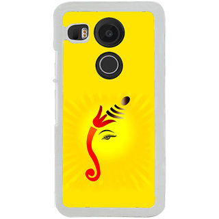 ifasho Modern Art Ganesh Back Case Cover for LG Google Nexus 5X