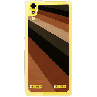 ifasho Design lines of different colours pattern Back Case Cover for LENOVO A6000