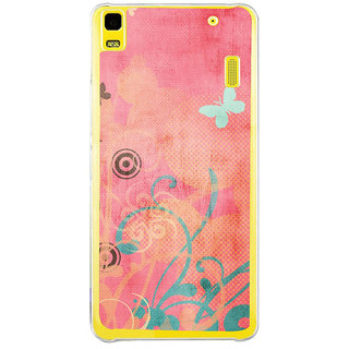 ifasho Animated Pattern colrful traditional design cloth pattern Back Case Cover for Lenovo K3 Note