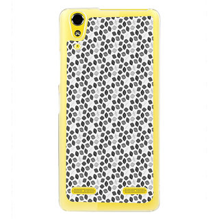 ifasho Animated Pattern colrful design flower with leaves Back Case Cover for LENOVO A6000