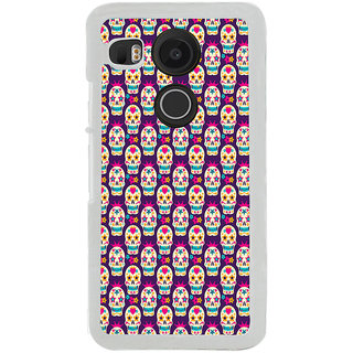 ifasho Modern  Design animated skeleton Pattern Back Case Cover for LG Google Nexus 5X