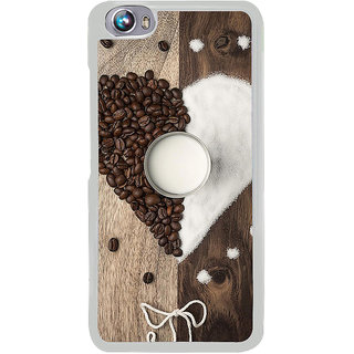 ifasho Coffee beans Back Case Cover for Micromax Canvas Fire4 A107