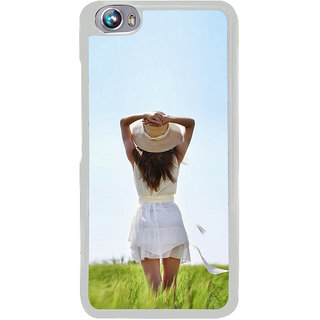 ifasho Girl waiting Back Case Cover for Micromax Canvas Fire4 A107