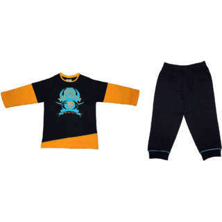 Toddler Boys Knitted Print Top and Bottom Set - 2014 TDB-301