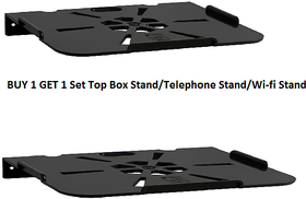 Set Top Box/Telephone Stand PVC (Buy 1 Get 1)