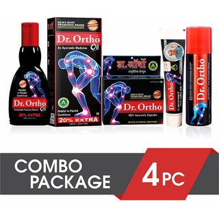 Dr Ortho Ayurvedic Joint Pain Relief Combo Package