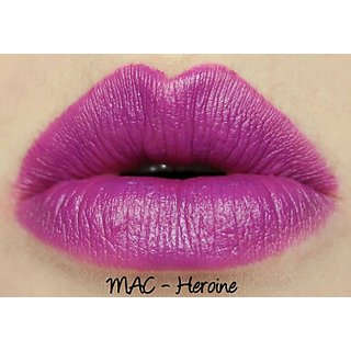 Colour 18 light purple matte lipstick CODE 17