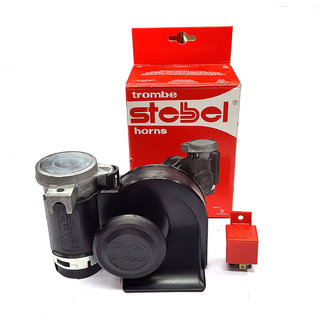 STEBEL MADE IN ITLY NAUTILUS Twin Air Horn - Universal (Relay included)