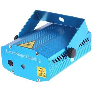 Mini Laser Projector Stage Lighting Sound Activated Laser Light for Party and DJ Displaying Effects