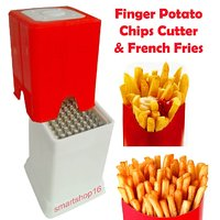 Finger Potato Chips  French Fries Cutter