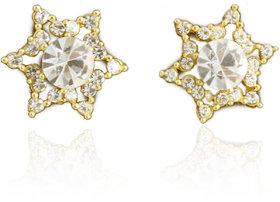 Touchstone AD Adorned Star Earrings