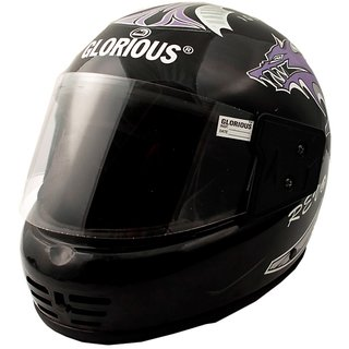 MP GLORIOUS FULL Face Helmet With ISI Mark