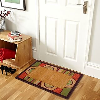 Status Multicolor Floor Mat ( 15 X22 Inch ) Buy 1 Get 1 Free