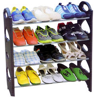 Stackable Shoe Rack Storage 12 Pair (4 Layer)