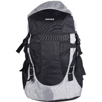Panther  40 Ltrs Black and Grey Backpack / Rucksack