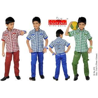 Boys Pant-Shirt Set ( 3 - 8 Year)