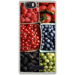 ifasho Fruits pattern Back Case Cover for Micromax Canvas Nitro2 E311