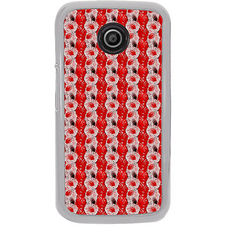 ifasho Animated  Feather Back Case Cover for Moto E