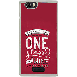 ifasho drink quotes Back Case Cover for Micromax Canvas Nitro2 E311