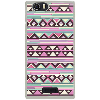 ifasho Animated Pattern colrful tribal design Back Case Cover for Micromax Canvas Nitro2 E311