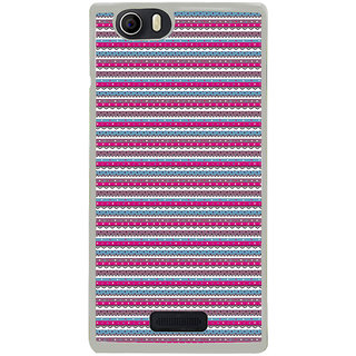 ifasho Animated Pattern colrful traditional design Back Case Cover for Micromax Canvas Nitro2 E311