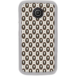ifasho Animated  Royal design with Queen head pattern Back Case Cover for Moto E2