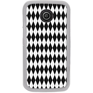 ifasho Animated Pattern of Chevron Arrows royal style Back Case Cover for Moto E2