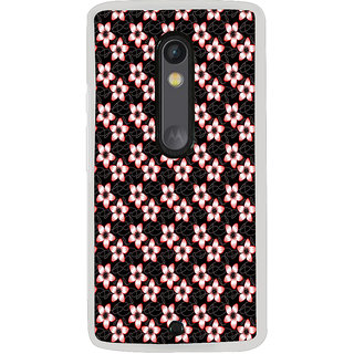 ifasho Modern Art Design animated cloth Pattern of flower Back Case Cover for Moto G3
