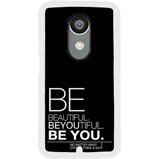ifasho beautiful qoutes Back Case Cover for Moto X2