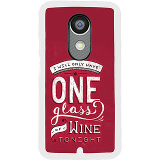 ifasho drink quotes Back Case Cover for Moto X2