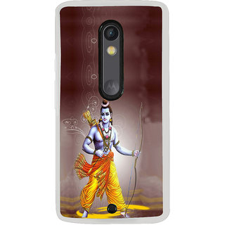 ifasho Lord Rama Back Case Cover for Moto X Style