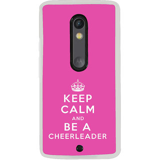 ifasho Nice Quote On Keep Calm Back Case Cover for Moto G3