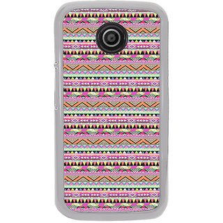 ifasho Triangular Pattern Back Case Cover for Moto E2