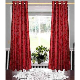 DOOR CURTAIN / DOOR CURTAINS [ RED]