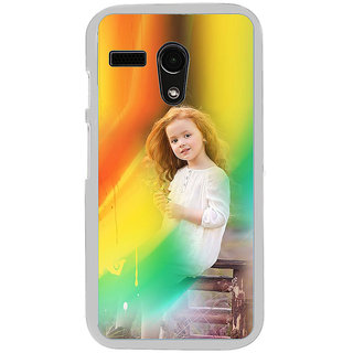 ifasho Girl playing Back Case Cover for Moto G