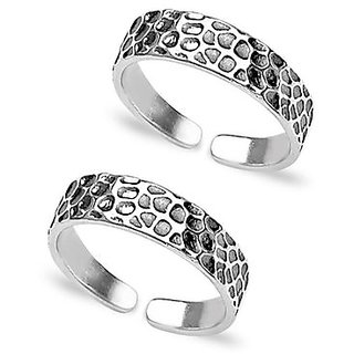 YouBella 925 Sterling Silver Toe Ring For Women-YBTR3000FOF