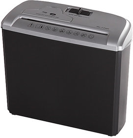 Ezy Shred Strip Cut Paper Trimmer shredder 7 L waste bin -shred paper and credit card/DVD/CD,  Auto Start/ Off /Clear /R