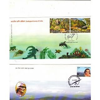 Full First Day Cancelled Cover with Brochure 2015