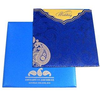 Satin Wedding Invitations (Pack of 100 Pcs)